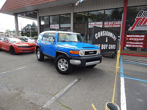 007 TOYOTA FJ CRUISER - 4L V6 5A very low miles 7917A-017868 on sale Autos Wholesale
