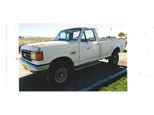 1987 FORD F-250 4X4 69 Diesel 5 Speed Transmission Rebuilt Runs Good 1800 OBO Call 435-279-02