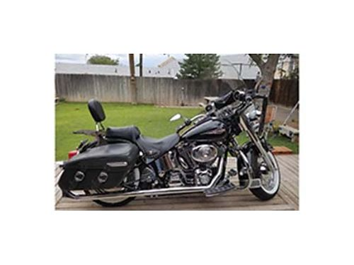 2006 HARLEY DAVIDSON HERITAGE Softail Classic Bike Pristine Condition Super Clean Never Been Rain