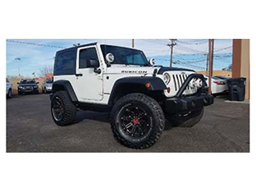 2008 JEEP WRANGLER RUBICON 4X4 6 Cyl PL PW AC Lifted 35 Tires Loaded  Super Sharp 17950 50