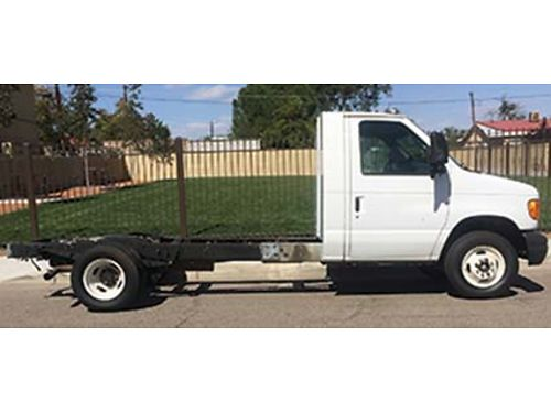 2006 FORD E450 CAB CHASSIS V10 Auto Low Miles ONLY 90K 5900 505-435-8584