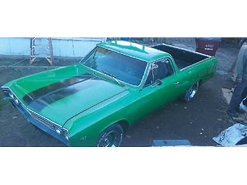 1967 CHEVY EL CAMINO V8 Auto Includes Headliner Rebuilt Motor Over 5000 In Parts  Labor 95