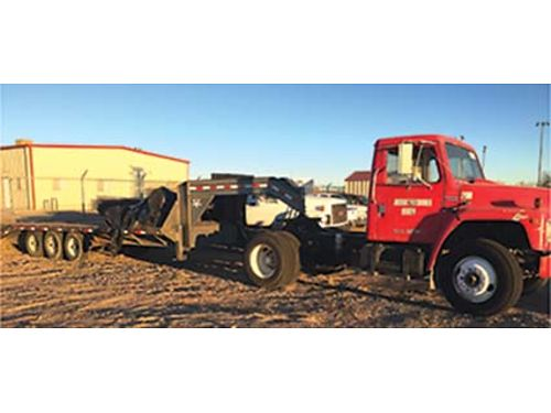 1981 INTERNATIONAL TRUCK With Trailer Good Condition 6900 OBO 505-331-1487