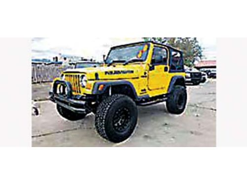 2006 JEEP WRANGLER SPORT 4X4 Custom Wheels Must See 11995 505-232-8439