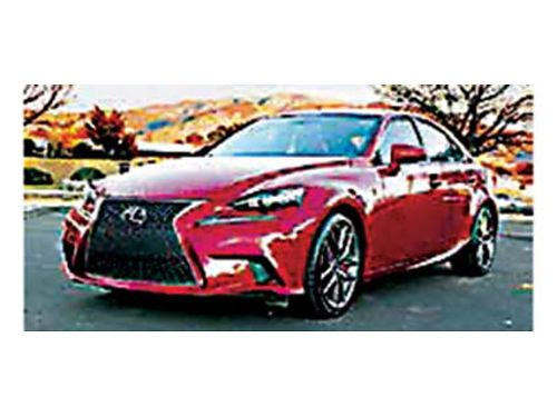 2014 LEXUS IS350 F-SPORT PACKAGE Loaded 24987 505-270-0717