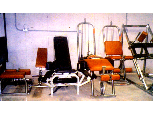 WEIGHT EQUIPMENT Universal 7 separate pieces professional commercial grade for free weights heav
