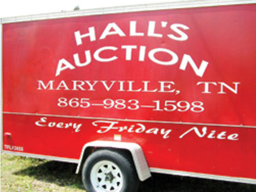 HALLS FURNITURE  AUCTION We Have Auctions 7pm EVERY Friday Night Antiques Estates Items Furnitur