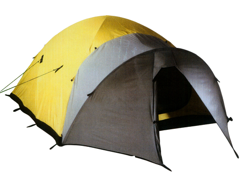 TENT Bibbler 2 person Bombshelter model high expedition tent yellow accessories never been us