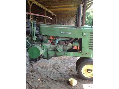ANTIQUE TRACTOR, 1950 JOHN DEERE MODEL G, ... | Cars and ...