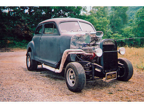 1941 CHEVROLET RAT ROD Street Legal Built 350 4spd Lakewood Scatter Shield bellhousing clutchge