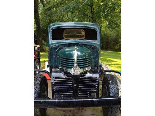 1946 DODGE TRUCK 2-Ton Cab  Chassis all original rebuilt Flathead 6cyl 2spd rearend 5spd tra