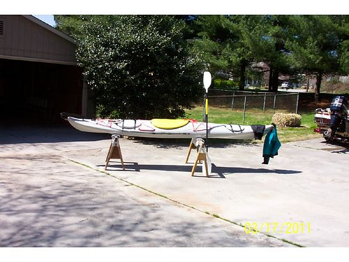 KAYAK 17 Wilderness not Whitewater wextra equipment excellent condition 450 firm 865-679-0
