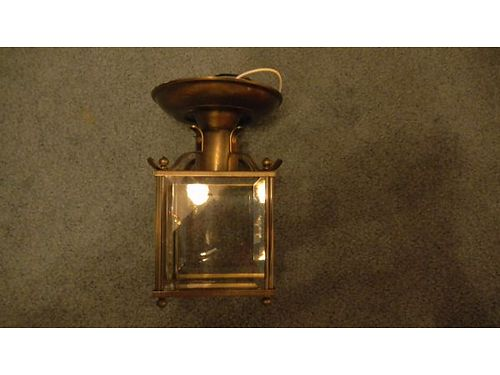 CEILING LIGHTS Polished antique brass - I have two of them 20 865-397-9508