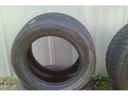 TIRES 2 25550ZR16 Cooper Tires good tread like new 2 25550ZR16 Parneli Jones slightly u
