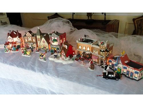 SNOW VILLAGE Original Department 56 w16 retired fairly rare pieces 350 for the set can sepera