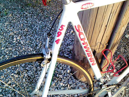 BICYCLE Schwinn 594 Mens racing bike exc cond 300 865-268-6481 see photos at wwwrecyclercom