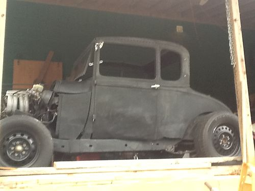 1928 FORD MODEL A 5 Window Coupe Rat Rod late model drive train 3500 in TN 865-617-9232 see m