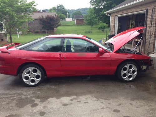 1993 FORD PROBE 2dr hatchback 20L 5spd air works but needs recharged custom wheels spoiler gr