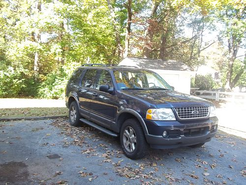 2003 FORD EXPLORER 2wd V6 auto CD roof rack heavy duty tow pkg alum wheels wgood tires Good