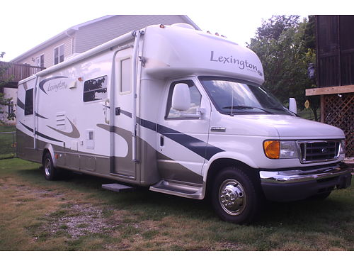 2008 FOREST RIVER LEXINGTON GTS Class B 315 Ford E450 V10 engine w15k Sl
