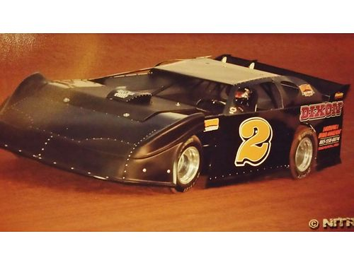 RACE CAR Late model Dirt Track car 2001 Warrior Underrail 4 Bar Quality Build