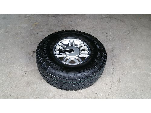 HUMMER H3 New Spare Tire  Mag Wheel never used Bridgestone Dueler AT 28575R16 Nice 225 423-