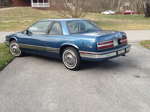 1990 BUICK REGAL Limited 2dr 38L V6 auto all power air amfmcass approx 60k very clean st