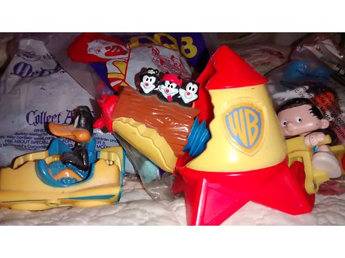 MCDONALDS HAPPY MEAL TOYS Older ones some mint in box some loose 80 for all 865-232-6486 see ph