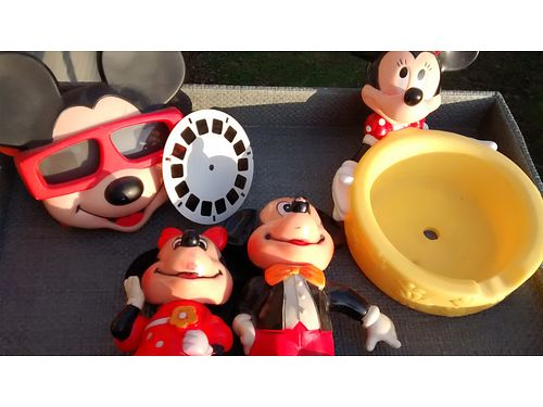 DISNEY ITEMS 6pcs Vintage 100 for all 865-232-6486 see photo at wwwrecyclercom