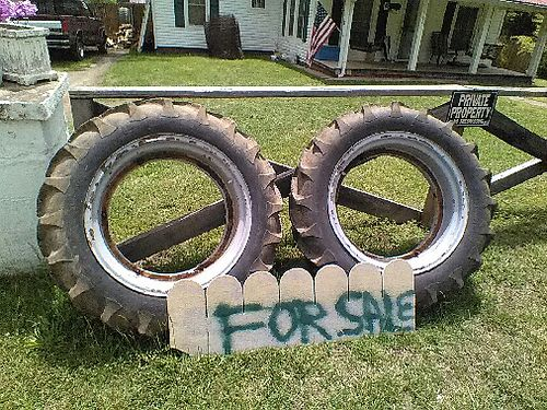 TRACTOR TIRES 2 1121028 wtubes 75 for the pair 865-951-6755 see photo online at wwwrecyc