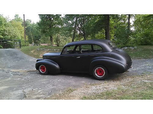 1940 CHEVROLET MASTER DELUXE 2dr 400 small block 400 Turbo auto trans 4bbl carb PS Nova front