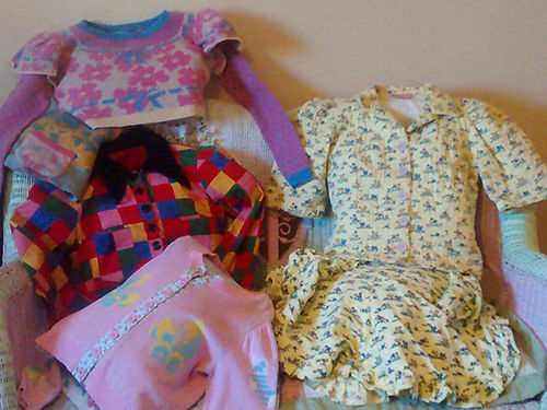 BETSY JOHNSON ALLEY CAT COLLECTION of 12 different outfits circa 1950s 450 865-438-5510 see pho