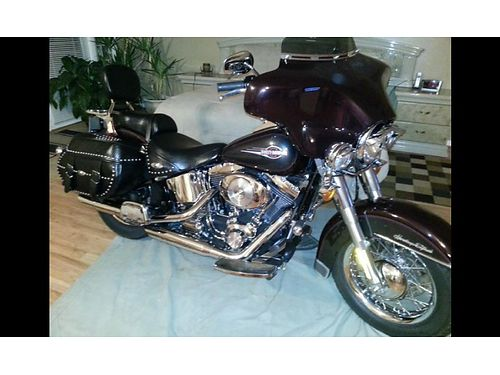 2006 HARLEY-DAVIDSON HERITAGE SOFTAIL Low miles just a little over 12k Lots of extras has remova