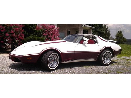 1977 CHEVROLET CORVETTE L-82 wT-Tops rebuilt 350 engine  400 auto transmission new suspension