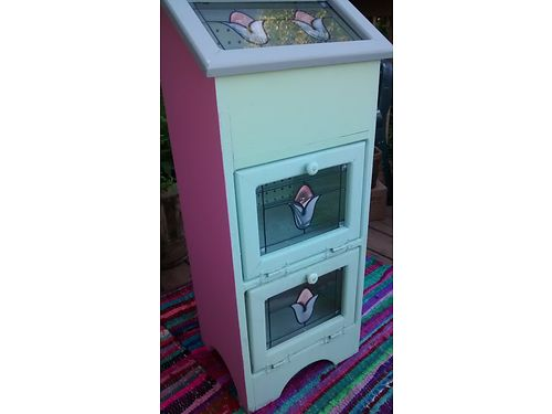 VEGETABLE BIN Vintage chalkware painted and glazed 90 865-232-6486 see photos at wwwrecyclerc
