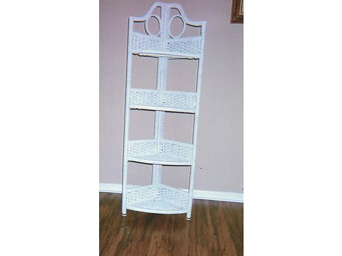 CORNER SHELFSTAND 4 shelves folds togeter when not in use 20 865-306-9914 calls only no text