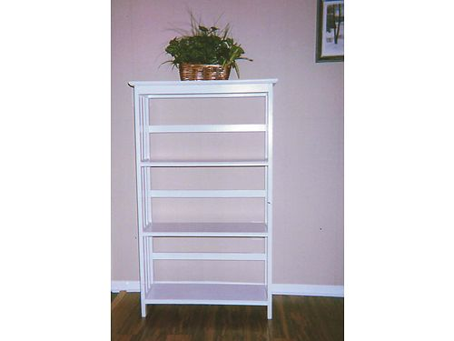 BOOKSHELF 4 shelves wood 295l 12w 49h 39 865-306-9914 calls only no text see photo at