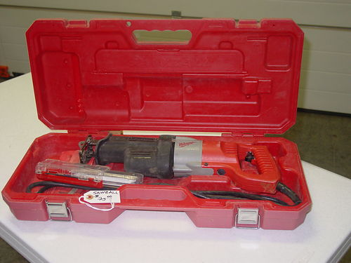 SAWZALL, MILWAUKEE, HEAVY DUTY W 1520 SPARE ...