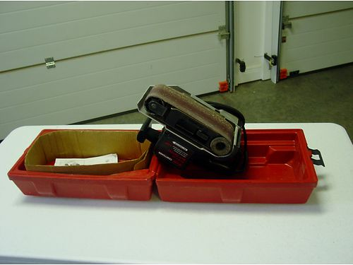 SANDER Craftsman 3 Belt Sander wseveral belts included 50 865-556-6017 see photo at wwwrecycl