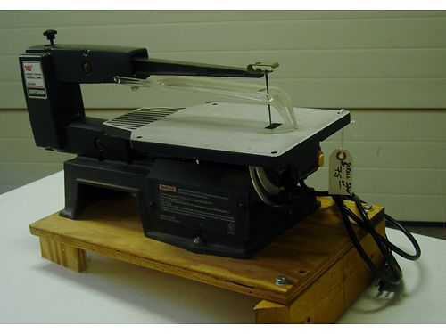 SCROLL SAW, SEARS CRAFTSMAN 16quot SCROLL SAW, ...