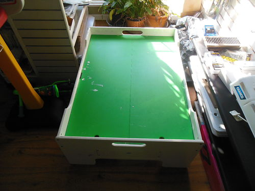 CHILDRENS ACTIVITYTRAIN TABLE wDrawer 30 865-521-9112 see photo at wwwrecyclercom