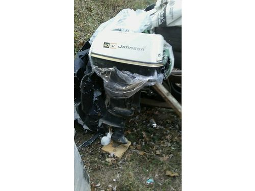 BOAT MOTOR Johnson 40hp Ooutboard 300 865-360-7192 see photos at wwwrecyclercom NO text pleas