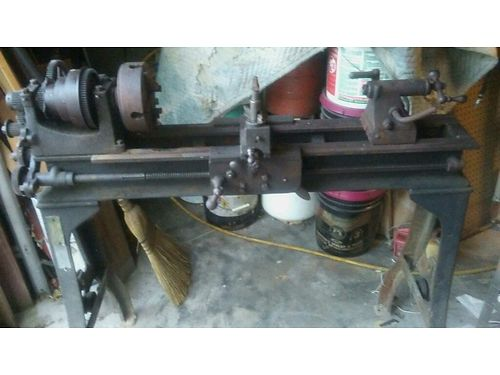 LATHE Sebastian Been in storage w4 bed 5 chuck 300 865-360-7192 see photos at wwwrecycler