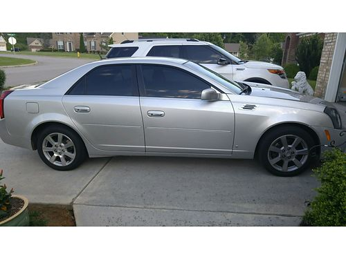 2006 CADILLAC CTS beautiful silvery gray wleather 35L V6 auto fully loaded CD changer low mil