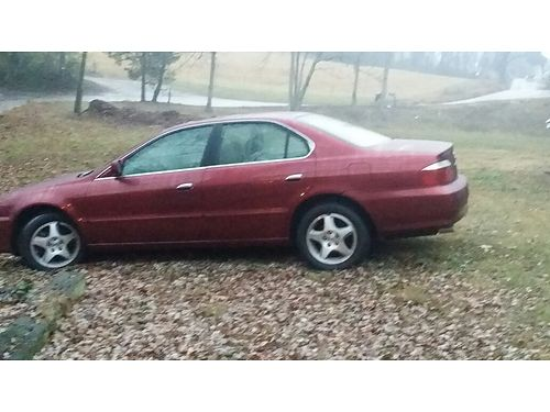 2003 ACURA 32 TL Burgundy 4dr V6 auto all power CD 2nd owner w200k just