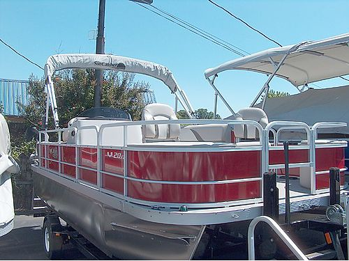 2016 G3 SUNCATCHER V20FC PONTOON BOAT 20 Fish  Cruise model is 86w has a quiet dependable Yam