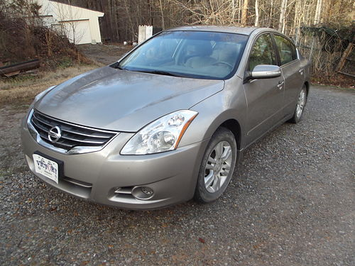 2012 NISSAN ALTIMA 25 SL metallic sandstone wleather 4cyl auto air all powers heated seats