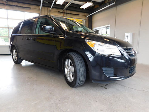 2009 VOLKSWAGEN ROUTAN SEL Nocturne Black wleather 6cyl auto all power cruise alarm DVD sunr