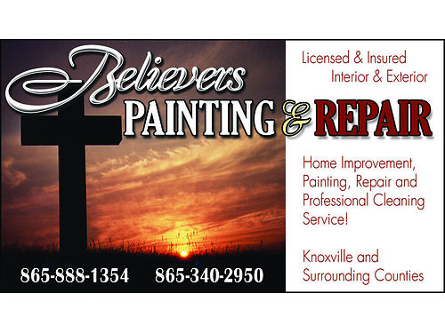 PRE SPRING SPECIALS BELIEVERS PAINTING  REPAIRS INTERIOR  EXTERIOR CLEANING LLC Painting Roof