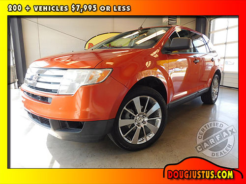 2008 FORD EDGE SE BLAZING Copper Metallic wcloth interior 35L Duratech auto all power more 11